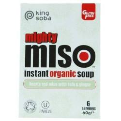 King Soba Miso soep instant...